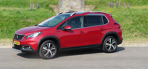 Rijden met Peugeot 2008