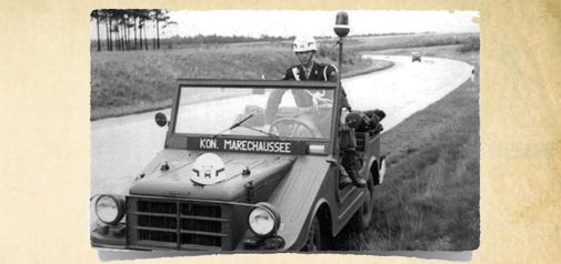 Per DKW Munga over de Noordduitse Laagvlakte