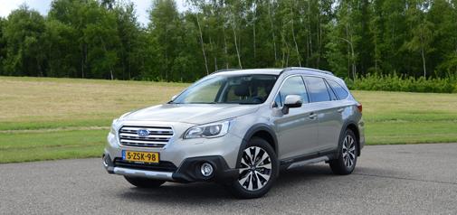 Subaru Outback 2015: sterk staaltje met nieuwe jas en stampvol hi-tech