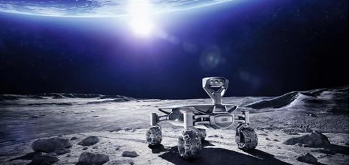 Audi naar de maan