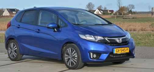 Rijden met Honda Jazz Elegance CVT