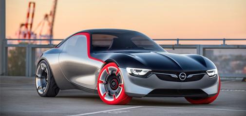 Opel GT Concept sportauto van de toekomst
