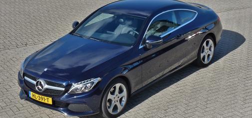 Rijden met Mercedes-Benz C 180 Coupé