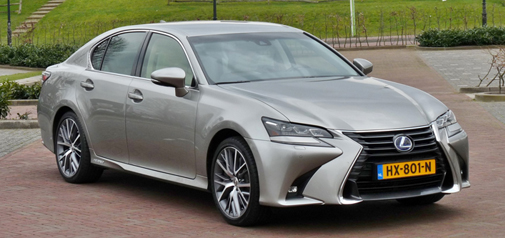 Rijden met Lexus GS 450h