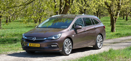 Rijden met Opel Astra Sports Tourer