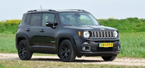 Rijden met Jeep Renegade Limited DDCT