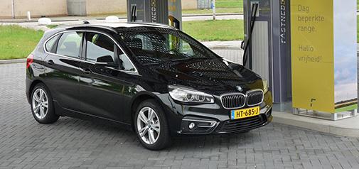 Rijden met BMW 225xe