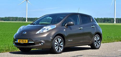 Rijden met Nissan LEAF 30 kWh