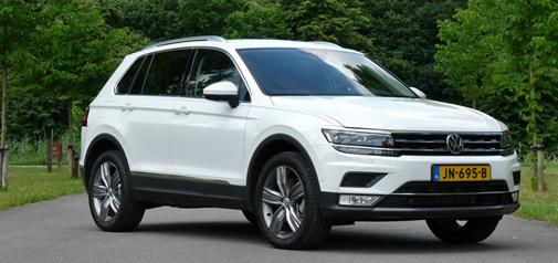 Rijden met Volkswagen Tiguan 2.0 TSI 4Motion Highline