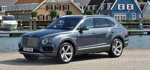 Rijden met Bentley Bentayga