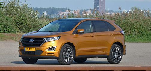 Rijden met Ford Edge 2.0 TDCi