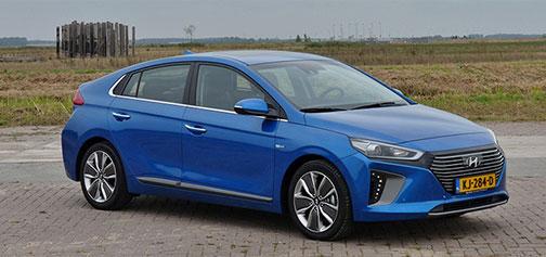 Rijden met Hyundai IONIQ Hybrid