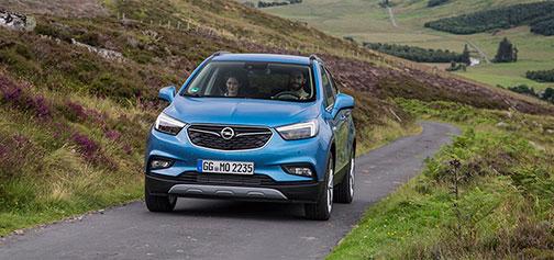 Rijden met Opel Mokka X Schotland
