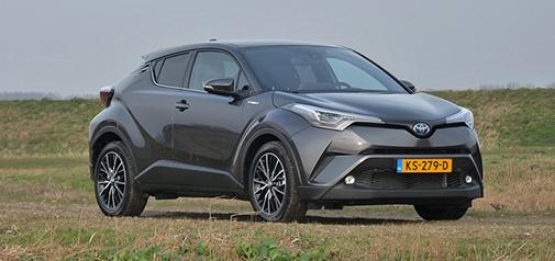 Rijden met Toyota C-HR 1.8 Hybrid Premium