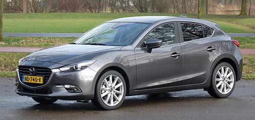 Rijden met Mazda3 2.0 SkyActiv-G 120 GT-M