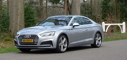 Rijden met Audi A5 2.0 TFSI quattro S tronic 7