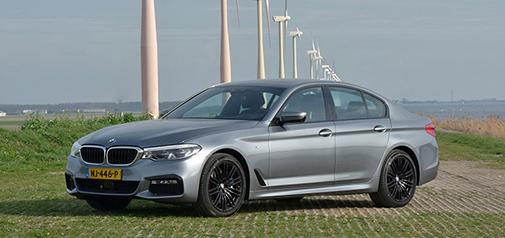 Rijden met BMW 540i