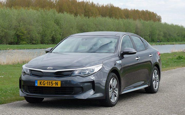 Rijden Met Kia Optima Plug In Hybrid