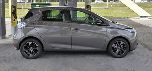 Rijden met Renault ZOE R90 Bose