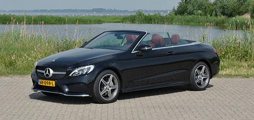 Rijden met Mercedes C 180 Cabriolet