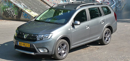 Rijden met Dacia Logan MCV TCe 90 Stepway