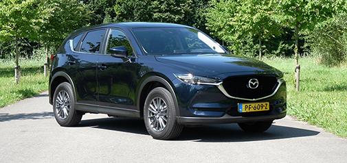 Rijden met Mazda CX-5 SkyActiv-D Skylease GT
