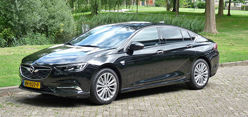 Rijden met Insignia Grand Sport 1.5 Turbo Business Executive