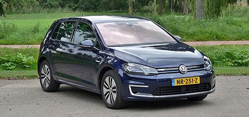 Rijden met Volkswagen e-Golf