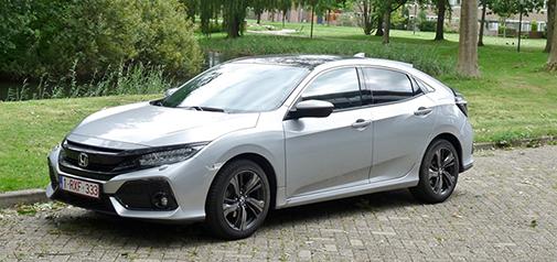 Rijden met Honda Civic 1.0 Premium