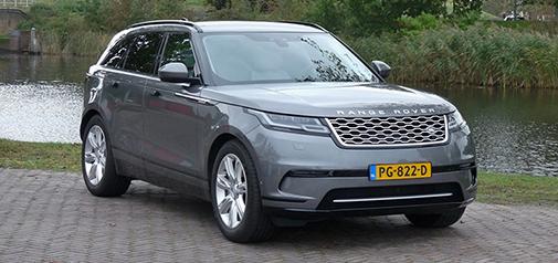 Rijden met Range Rover Velar D300 SE