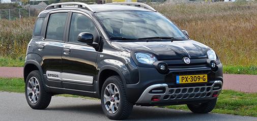 Rijden met Fiat Panda Cross