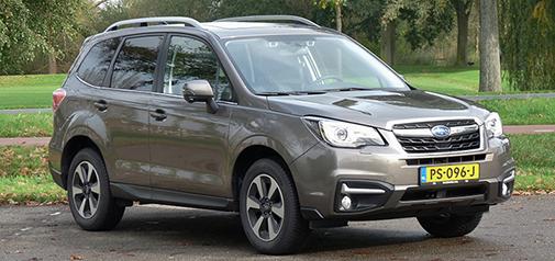 Rijden met Subaru Forester 2.0 CVT Premium