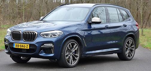 Rijden met BMW X3 M40i