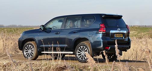 Rijden met Toyota Land Cruiser