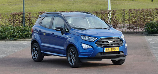 Rijden met Ford EcoSport 1.0 EcoiBoost ST-Line