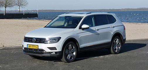 Rijden met Volkswagen Tiguan Allspace