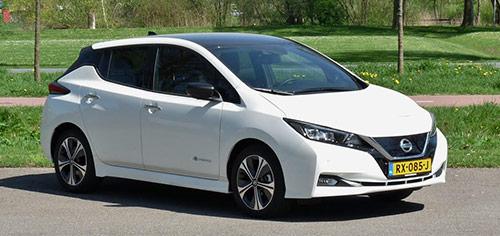 Rijden met Nissan LEAF