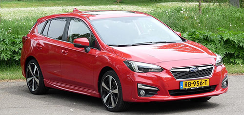 Rijden met Subaru Impreza 1.6i Premium