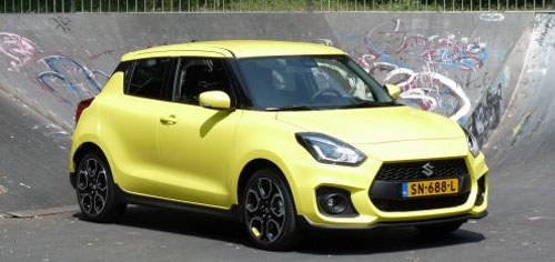 Rijden met Suzuki Swift Sport
