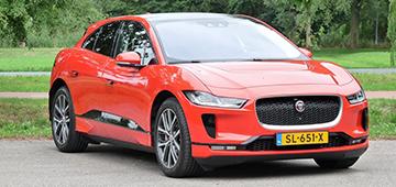 Rijden met Jaguar I-PACE First Edition