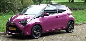 Rijden met Toyota Aygo x-cite