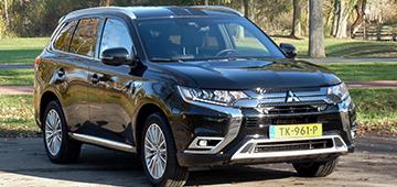 Rijden met Mitsubishi Outlander PHEV Instyle