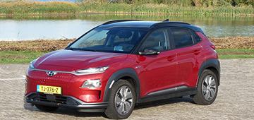 Rijden met KONA Electric Premium