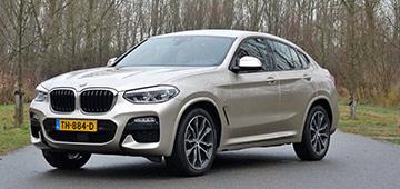 Rijden met BMW X4 xDrive 30i