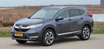 Rijden met Honda CR-V 1.5 Executive AWD CVT