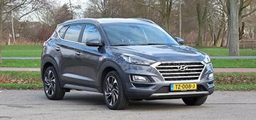 Rijden met Hyundai Tucson 1.6 T-GDI Premium