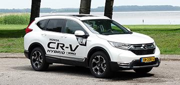 Rijden met Honda CR-V Hybrid AWD Executive