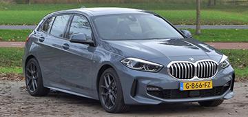 Rijden met BMW 118d