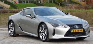 Rijden met Lexus LC 500h