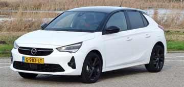 Rijden met Opel Corsa GS Line 1.2T 100 pk